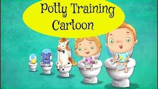 Potty Training Cartoon