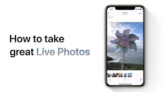 How to take great Live Photos on your iPhone or iPod touch – Apple Support