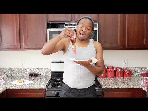Ghetto Gourmet Syrup Sandwich