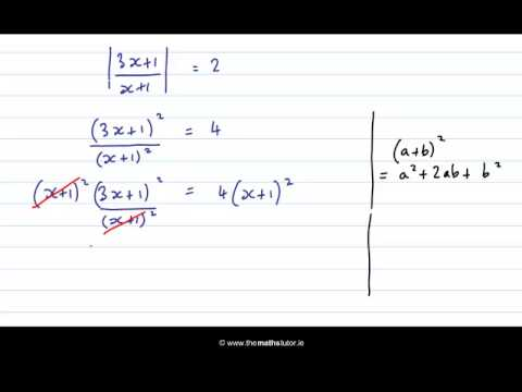 modulus equations and inequalities iii leaving cert project maths algebra youtube. Black Bedroom Furniture Sets. Home Design Ideas