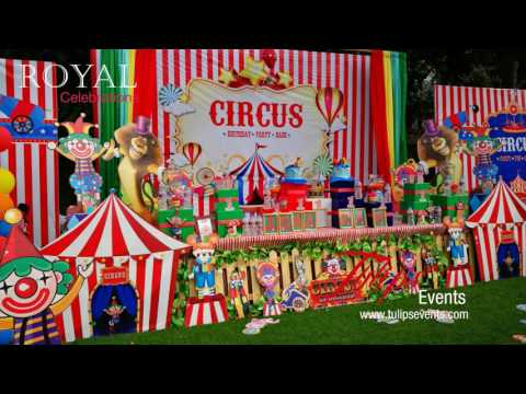 Carnival Circus Themed Birthday Party Planner in Pakistan