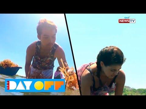 Day Off: Janine Gutierrez vs Ken Chan sa seaweed farming challenge