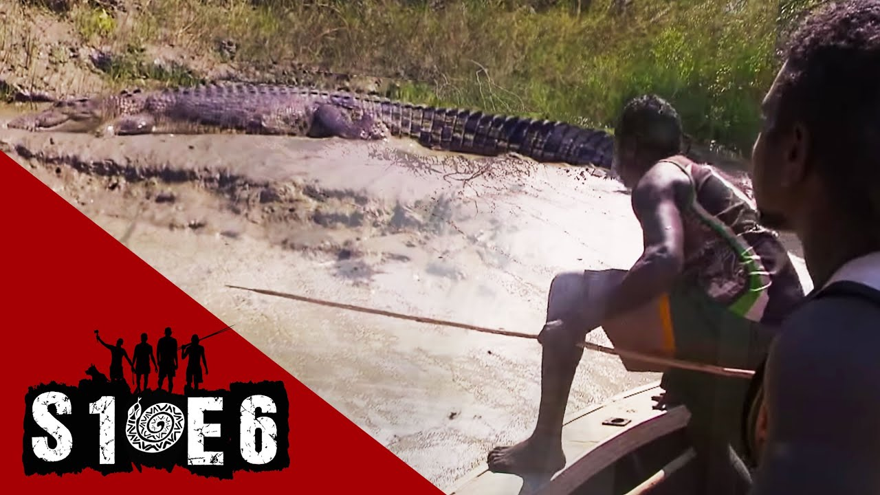 Download Hunting crocodiles in the wild with a spear | Black As - Season 1 Episode 6