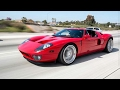 2006 Ford GT vs 2010 Ford Shelby Mustang GT500