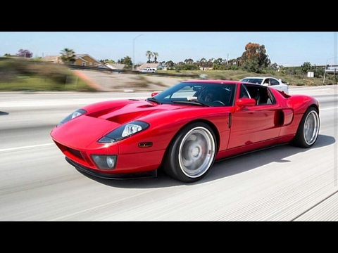 2006 ford gt vs 2010 ford shelby mustang gt500 - youtube