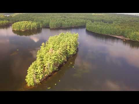Crotch Lake North Frontenac Park Drone 2017