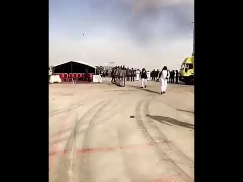 Plane  Crash..JEDDAH ,Mock  Fire drill  ,SAUDI ARABIA (AIR PLANE CRASH JUST TRAINING)