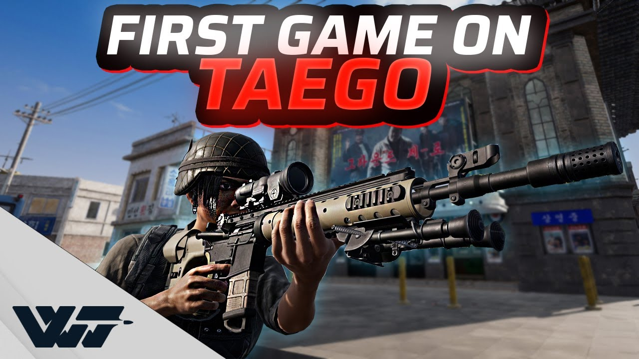 Download MY FIRST GAME ON TAEGO EVER - The new AMAZING 8x8 Map - PUBG