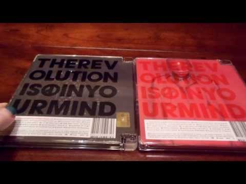 (Unboxing) G-Dragon COUP D'ETAT Black and Red Versions