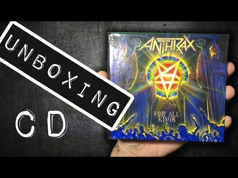 Unboxing CD Anthrax - For All Kings 2 CDS 2016