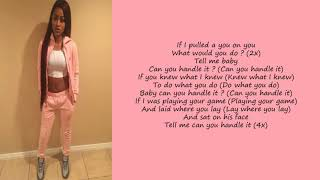 Ann Marie - Handle It (Lyrics)