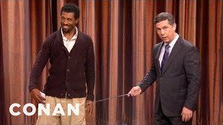 Chris Parnell Reveals iPhone 5's Secret Sexy Feature - CONAN on TBS
