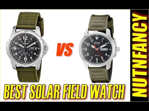 Army Field Watch Shootout 2016: Seiko vs Citizen