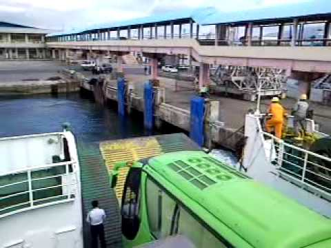 RORO (from Calapan city) docking at Batangas port.