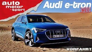 Der neue Audi e-tron: Wirklich Vorsprung durch Technik? Fahrbericht (Review) | auto motor & sport