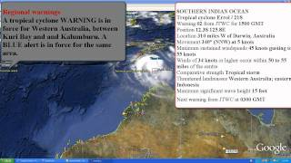 Tropical Cyclone Errol April 15 2011