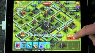 Clash of Clans 400k gold breakfast balloon attack - part 4 of let's play