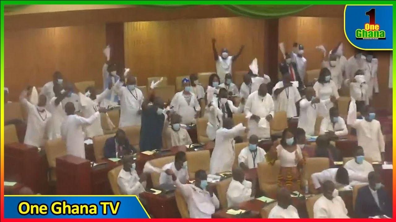 Alban Bagbin ch!des Parliament over their behavior as Npp Jubilate  after declaring them majority