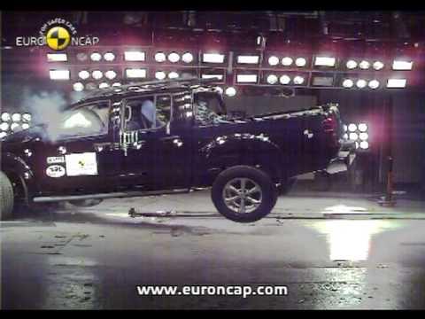 Euro NCAP | Nissan Navara | 2008 | Crash test