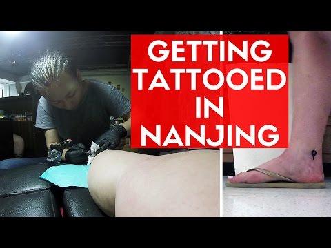 I GOT A TATTOO... IN CHINA! | Nanjing Vlog