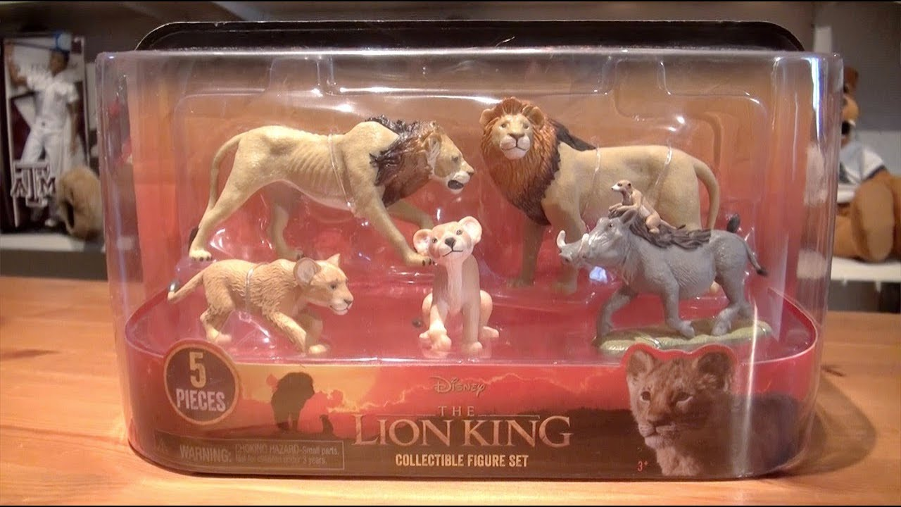 Kitwana S Toys 34 2019 Just Play Disney The Lion King Collectible Figure Set Youtube