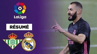 Résumé : Un Real Madrid renversant contre le Real Betis !