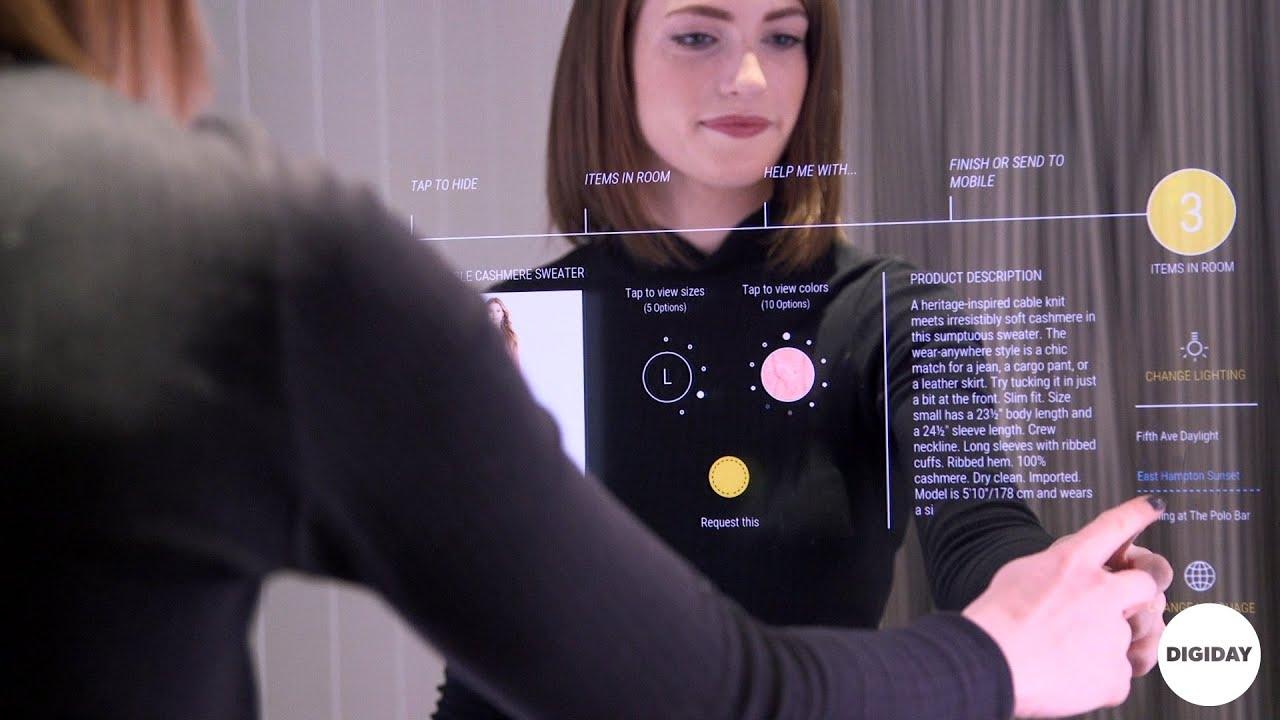 Ralph Lauren In Store Tech L Digiday Youtube