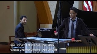 Stefon Harris, vibes/marimba & Alex Brown, piano: I Fall in Love Too Easily