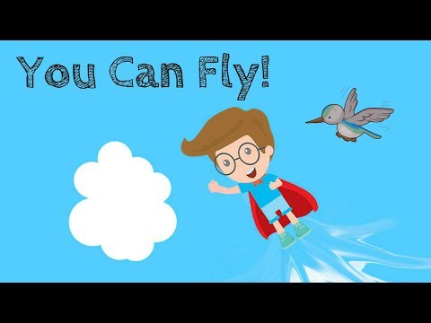Guided Meditation for Children | YOU CAN FLY! | Kids Relaxation