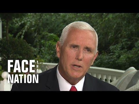 "Pence says Trump has ""great respect"" for Cabinet despite Woodward allegations"