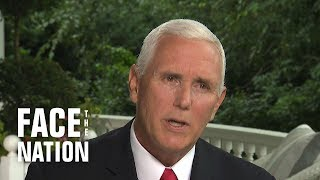 """Pence says Trump has """"great respect"""" for Cabinet despite Woodward allegations"""