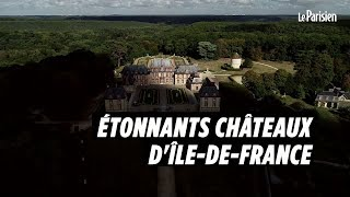 Nos « Étonnants châteaux d'Île-de-France » vus depuis un drone thumbnail
