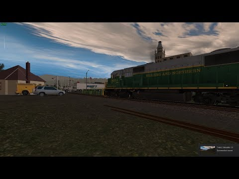 Trainz  READING & NORTHERN Route Trailer