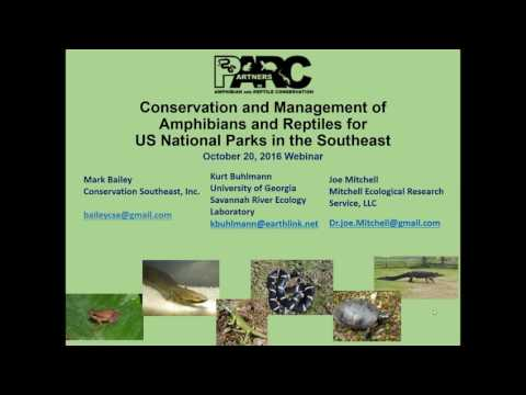 Conservation and Management of Amphibians and Reptiles for U