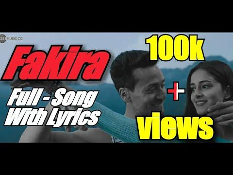 Fakira - Full Song With Lyrics | Tiger, Ananya & Tara | Vishal & Shekhar | Sanam Puri, Neeti, Anvita