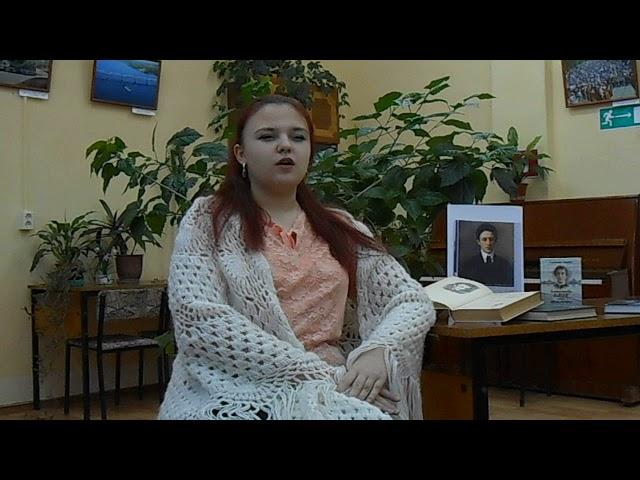 Изображение предпросмотра прочтения – ЛюдмилаВолкова читает произведение «Мой любимый, мой князь, мой жених...» А.А.Блока
