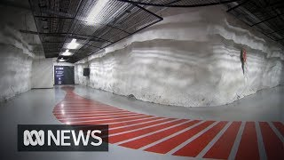 Why is Finland building an underground city? | ABC News
