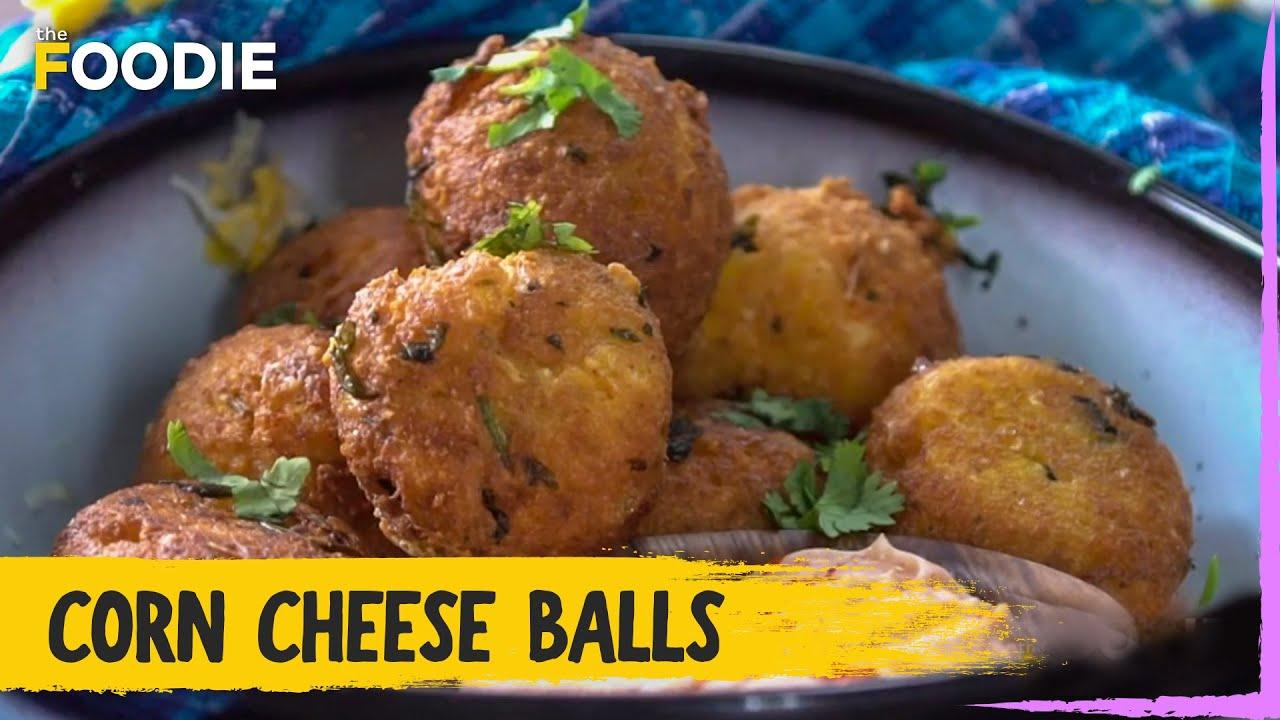 Corn Cheese Balls | How to make Corn Cheese Balls | The Foodie