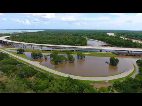 KAL Drone 170904 Brazos River at Hwy 332