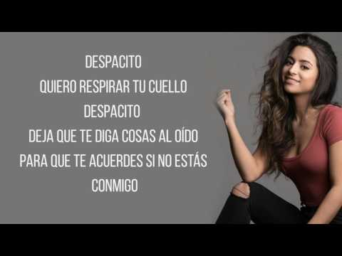 Despacito - Luis Fonsi ft. Justin Bieber (Talia Martinez Cover) / Lyrics