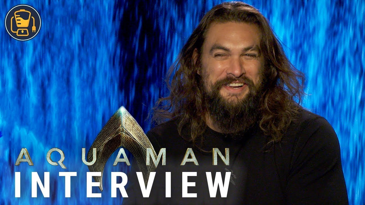 Jason Momoa on Aquaman, Justice League and His New DC Suit