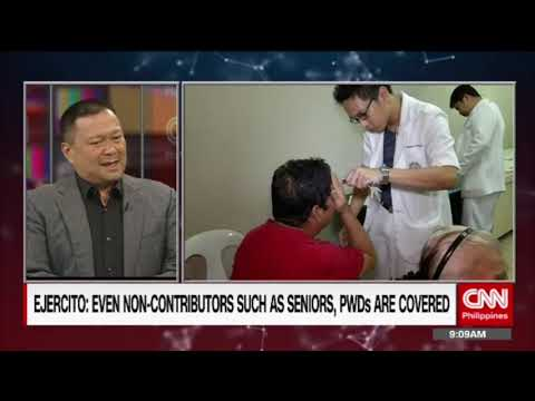 'The Source' speaks to Senate Committee on Health Chairman Senator JV Ejercito