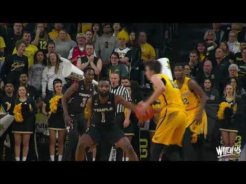 Highlights: MBB vs. Temple (Feb. 15, 2018)