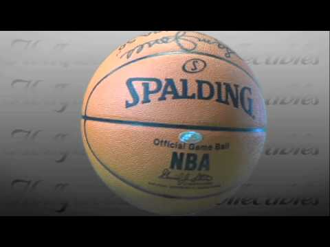Sam Jones Basketball with Inscriptions signed in Black Paint Pen