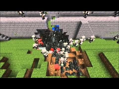 The Battle Of Helm's Deep As Told By Minecraft
