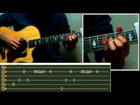 Far away fingerstyle (quick lesson)
