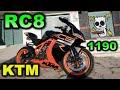 Ktm 1190 Rc8 Impresionante :o   Blitz Rider