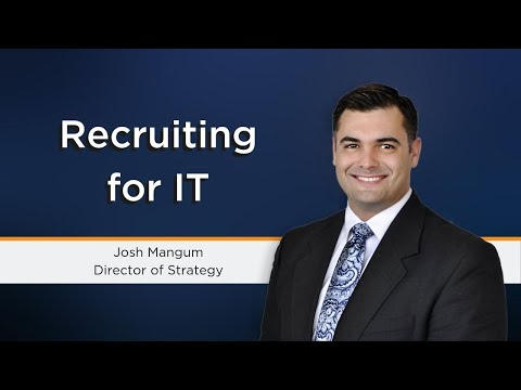 IT Recruitment | Headhunting Information Technology Talent: SSG Knows