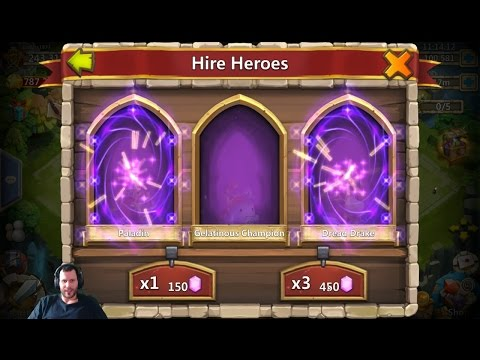 80,000 Gems Smashing The 450  Button For FAME Castle Clash