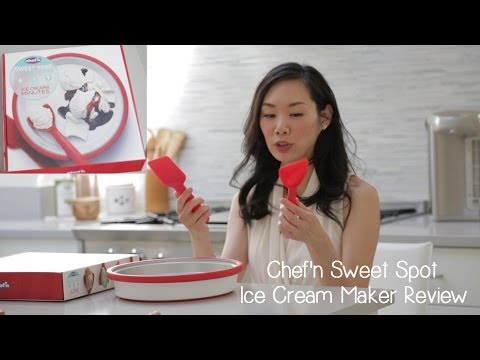 Chef'n Sweet Spot Ice Cream Maker Product Review | Angel Wong's Kitchen